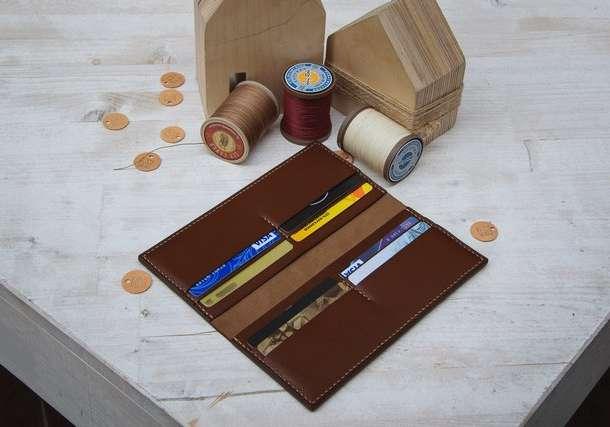 Аксессуары из кожи: портмоне, кошельки, сумочки, обложки для документов, фотография 5