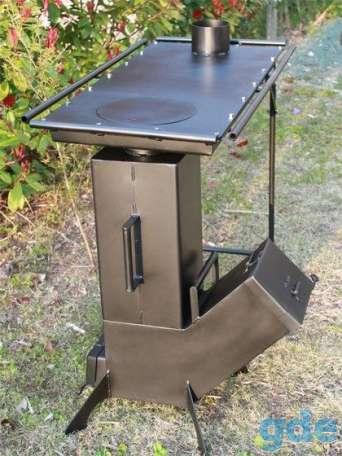 Стол - плита - печь Ракета. Для приготовления пищи., фотография 1