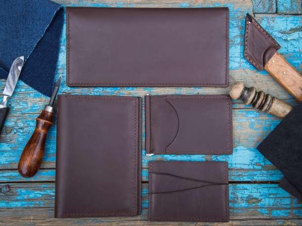Аксессуары из кожи: портмоне, кошельки, сумочки, обложки для документов, фотография 7