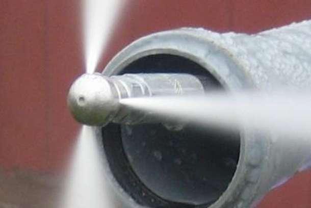 Прочистка канализации. Промывка. Пробивка канализации в Ростове-на-Дону., фотография 3