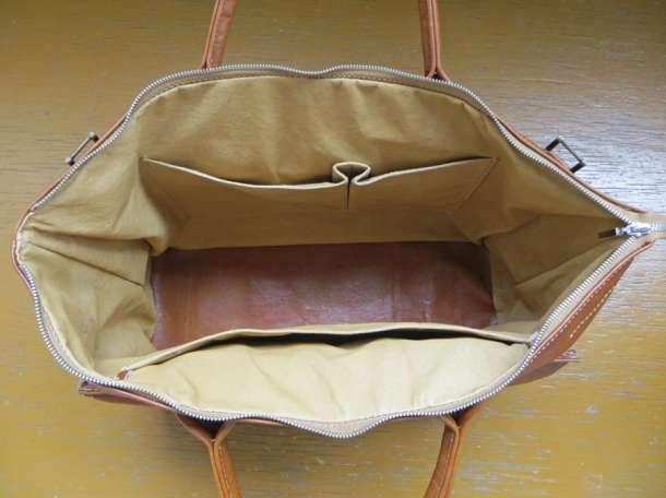 Кожаная сумка ручной работы, фотография 2