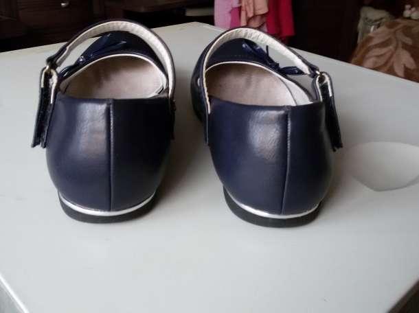 Туфли 36 размер для девочки синие., фотография 4