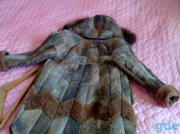Продаётся натуральная дублёнка, а также очень тёплое пальто. Возьмёте не пожалеете., фотография 2