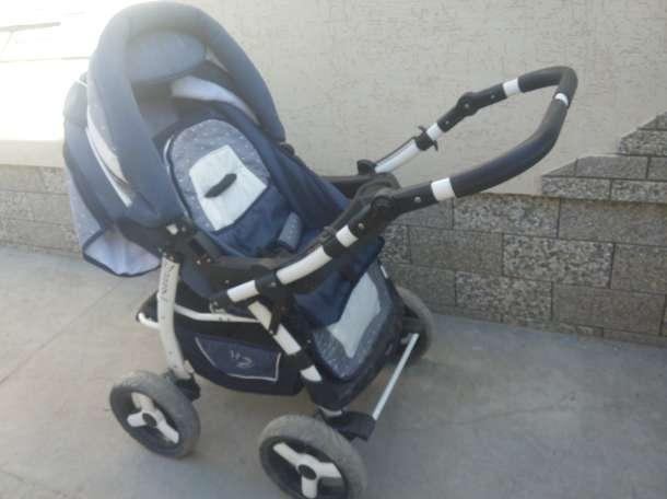 Продам детскую коляску Adamex Young трансформер + матрасик., фотография 1
