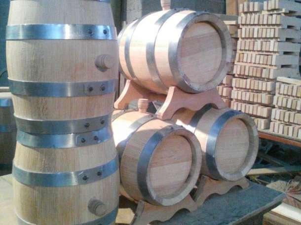 Дубовые бочки для вин и коньячных напитков, фотография 2