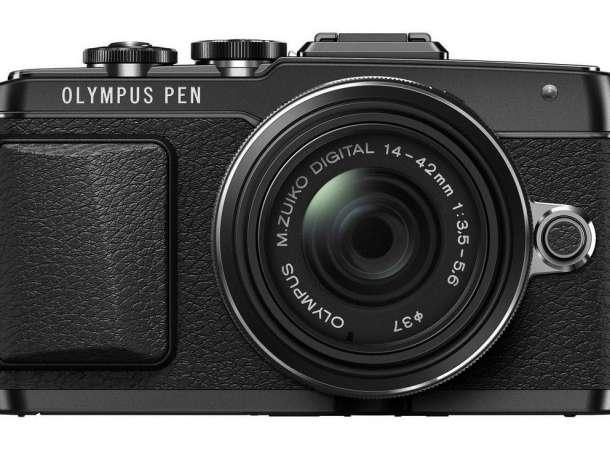 Системная фотокамера со сменной оптикой Olympus Pen E-PL7 kit 14-42, фотография 1