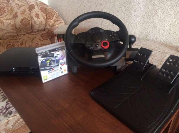 PS3 +Руль Logitech Driving Force™GT  , фотография 1
