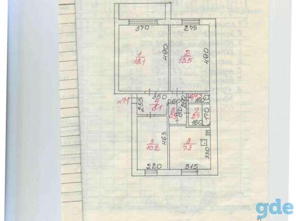 ПРОДАМ 3х-комнатную квартиру 8 квартал 12 дом, Россия,Иркутская область, 8 квартал 12 дом, фотография 3