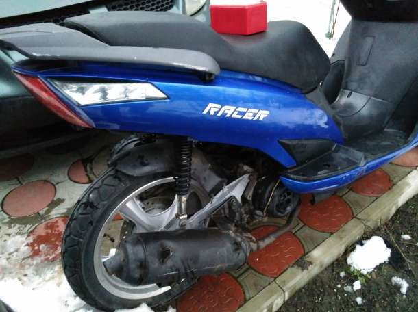 Продам скутер racer dragon, фотография 4