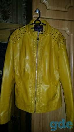 Стильная кожаная курточка, фотография 2
