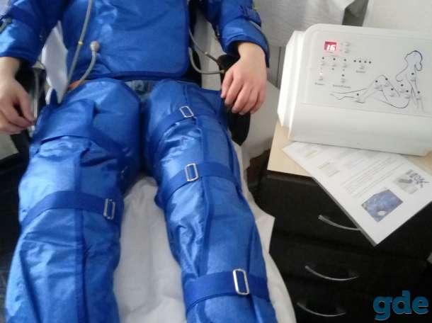 Прессотерапия- программы (Расслабление, Лимфодренаж,  Снижение веса, фотография 1