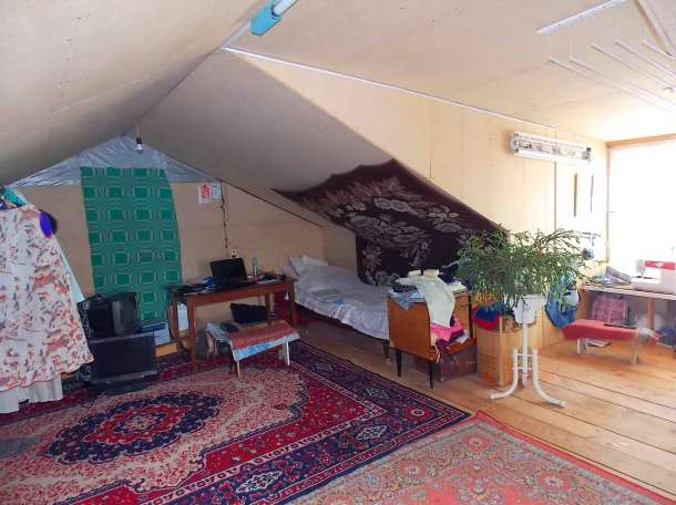 Рубленый дом с мансардой в живописном месте г. Усмань Липецкой области, фотография 7