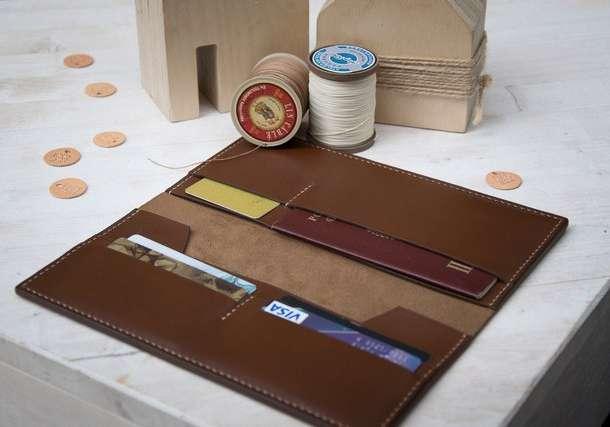 Аксессуары из кожи: портмоне, кошельки, сумочки, обложки для документов, фотография 1