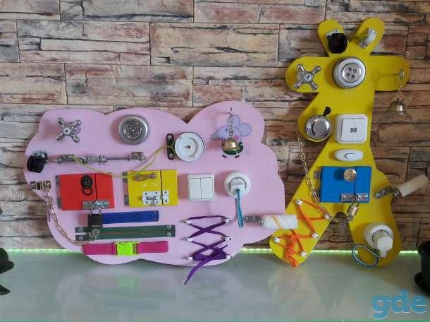 Развивающая игрушка Бизиборд Жираф, фотография 1