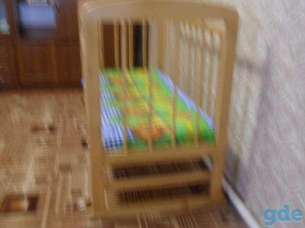 кроватка и матрас, фотография 2