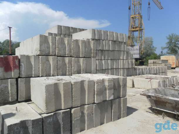 бетон блоки для фундамента