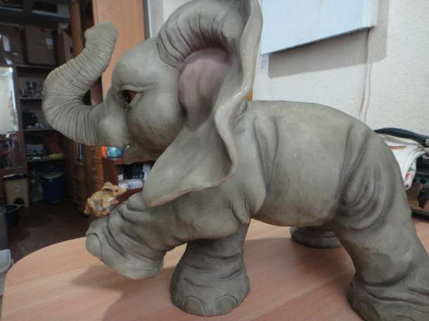 Продаю. Слон гипс, фотография 11