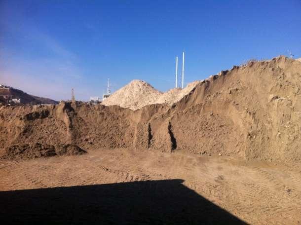 Продажа речного песка и щебня в Инкермане, фотография 1