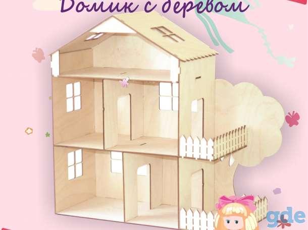 Домик для кукол с мебелью, фотография 4