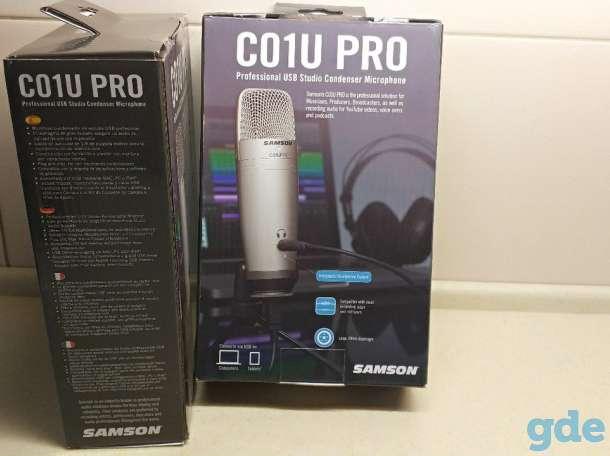 Легендарный Samson C01U PRO USB Микрофон. Жмите, фотография 7