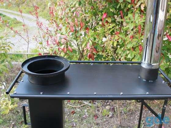 Стол - плита - печь Ракета. Для приготовления пищи., фотография 3