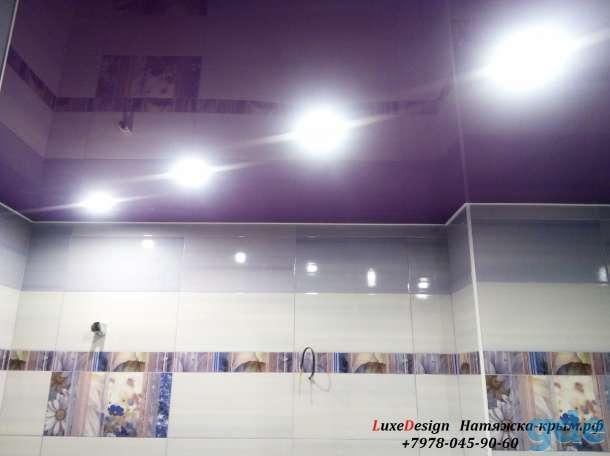 Натяжные потолки в ванную комнату, фотография 6