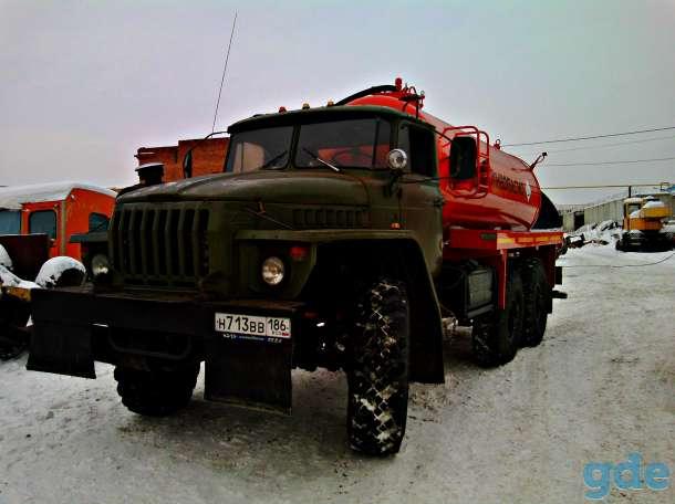 АТЗ 10 на шасси Урал, фотография 1