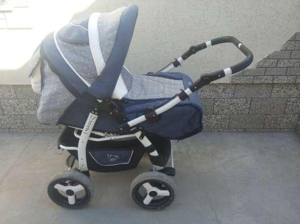 Продам детскую коляску Adamex Young трансформер + матрасик., фотография 3