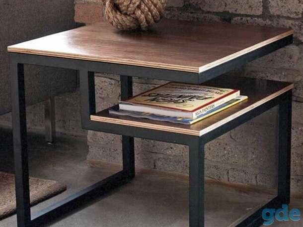 Стол и стулья в стиле LOFT, фотография 4