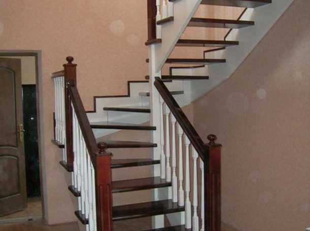 Изготовление деревянных лестниц, фотография 3