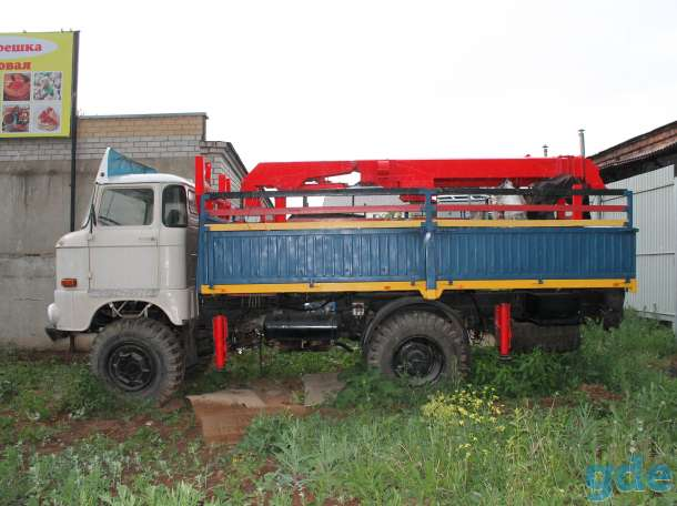 Продается грузовик ИФА w 5О LA 4*4 с 2-х местной корзиной Автовышки, фотография 1