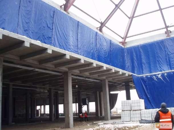 Тент полог для бетона, фотография 2