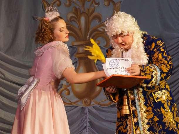 Профессиональные актёры театра «Рампа» в качестве Деда Мороза и Снегурочки !!!, фотография 2