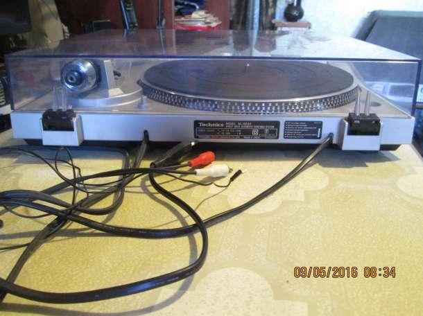 Проигрыватель виниловых пластинок Technics SL-D202, фотография 2