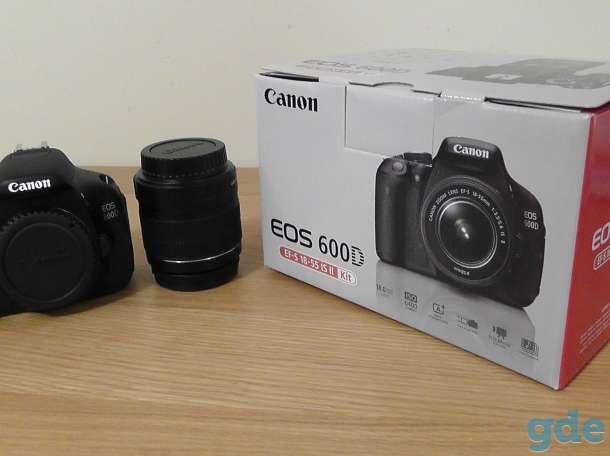 Фотоаппарат CANON 600D, фотография 1