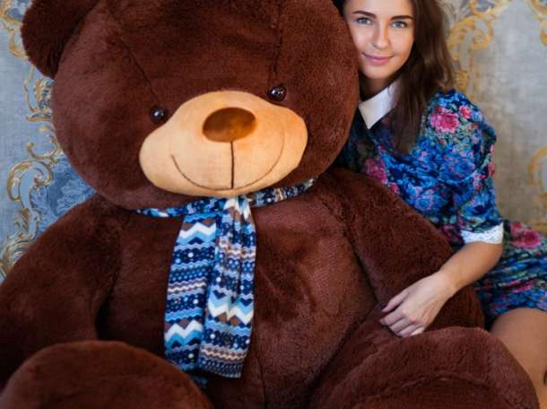 Большие плюшевые медведи и мишки, фотография 4
