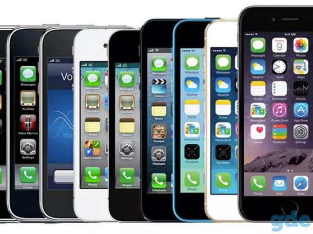 Продаю iPhone от 4s до 6+, фотография 1