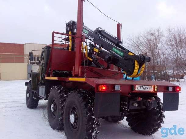 Лесовозный тягач на шасси Урал 4320, фотография 4