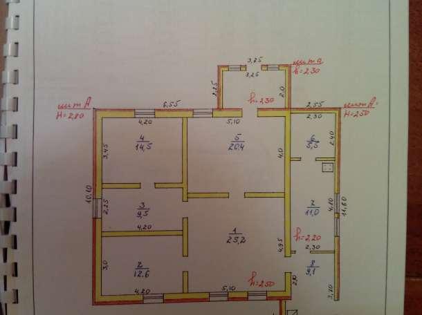 дом 110 м² (кирпич) на участке 14 сот., в черте города, фотография 9