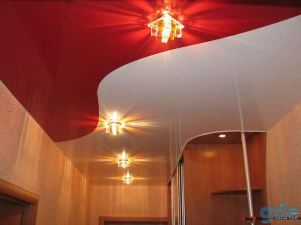Комбинированные натяжные потолки -красота в вашем доме, фотография 7