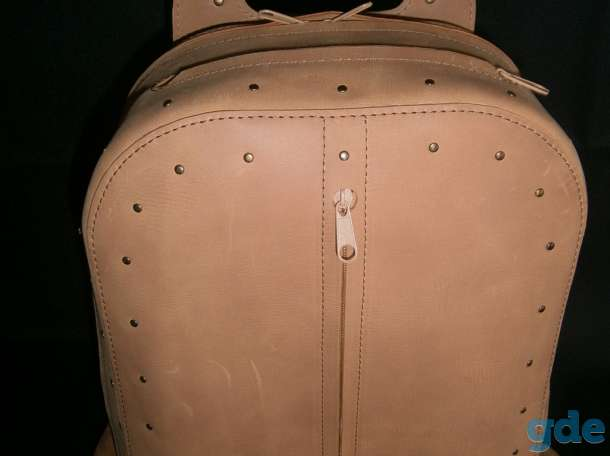Сумка-рюкзак из натуральной кожи, фотография 1