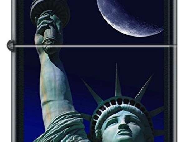 Зажигалка Zippo 218 Liberty at Night, фотография 1