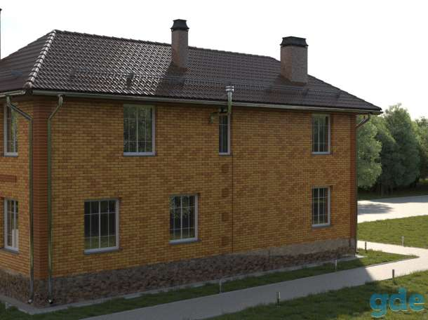 Проект дома для узкого участка 135 кв. м / AK-83, фотография 7