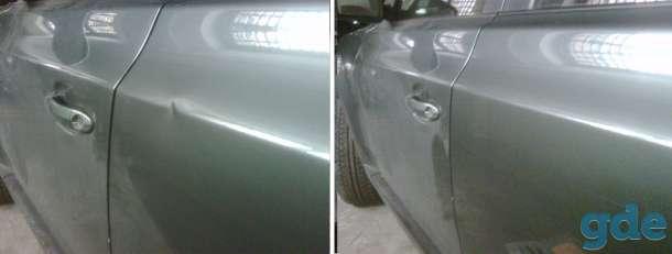 Ремонт вмятин на автомобиле без покраски, фотография 1