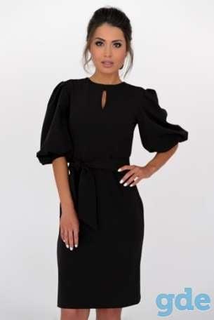 c820b2c4030 Элегантное черное платье+бесплатная доставка с примеркой