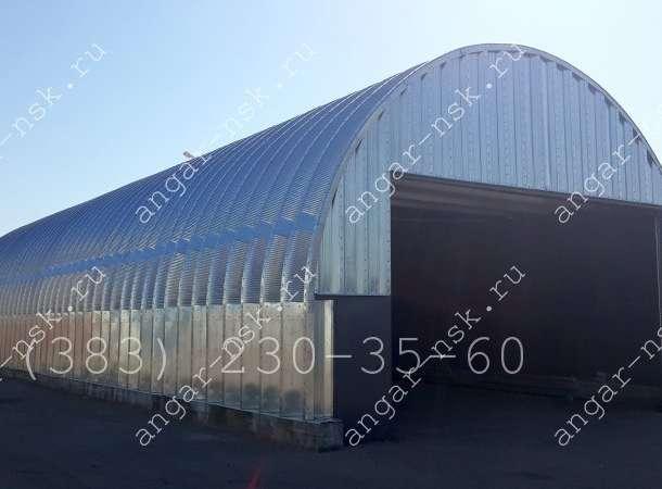 Производство и монтаж арочных ангаров в г. Петропавловск-Комчатский, фотография 2