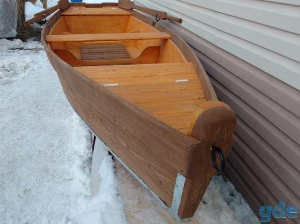 Лодка деревянная, фотография 6