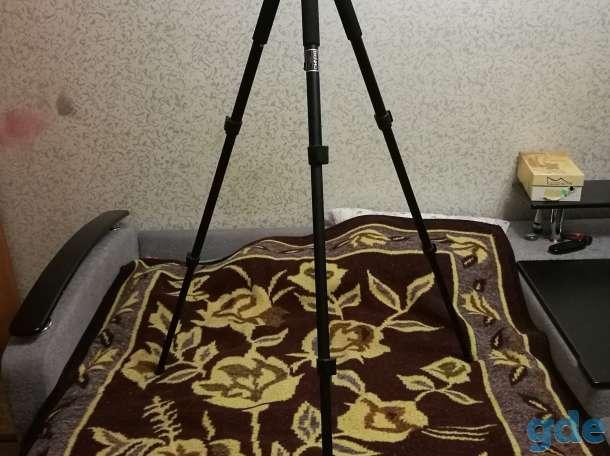 Штатив трипод напольный Benro A500FBH1, фотография 3