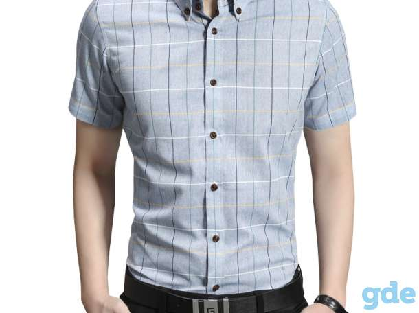 Продам новые мужские джинсы, рубашки, демисезонную куртку,, фотография 2