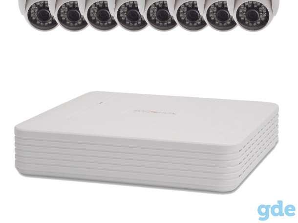 Комплект видеонаблюдения 8 внутренних камер 2 Мп, фотография 1